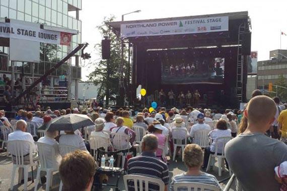 Украинский  фестиваль в Торонто
